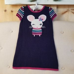 Gymboree little mouse sweater dress